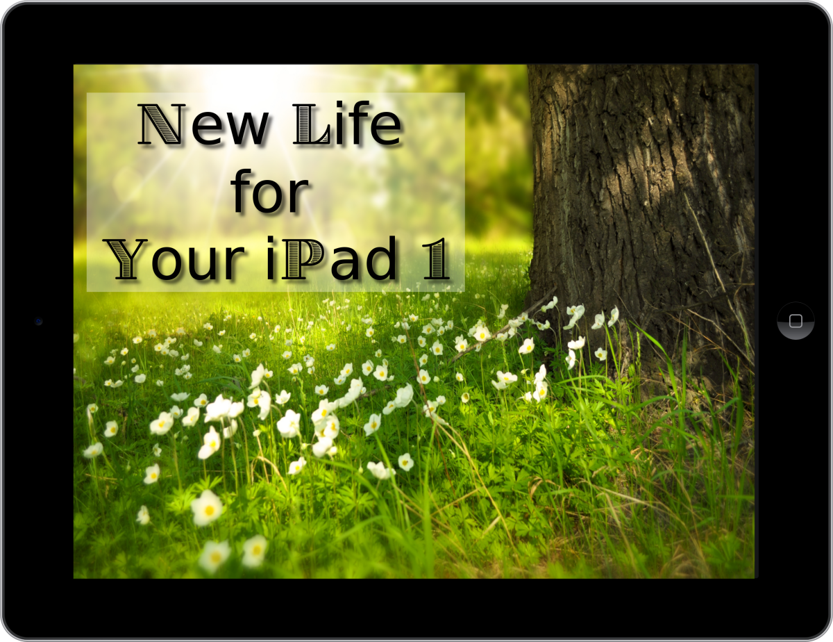 New Life for Your iPad 1 (c) 2017 by Sher Vacik. All rights reserved.