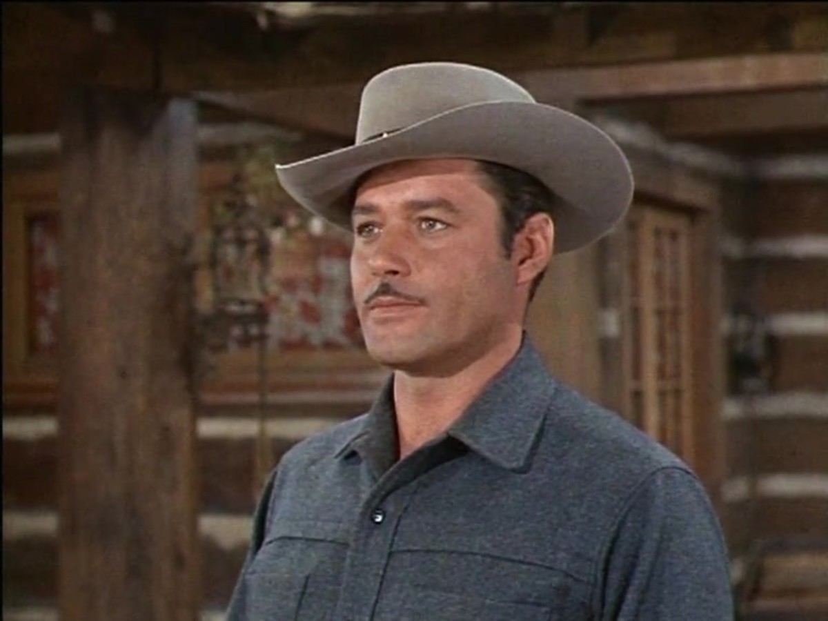 Guy Williams in BONANZA.