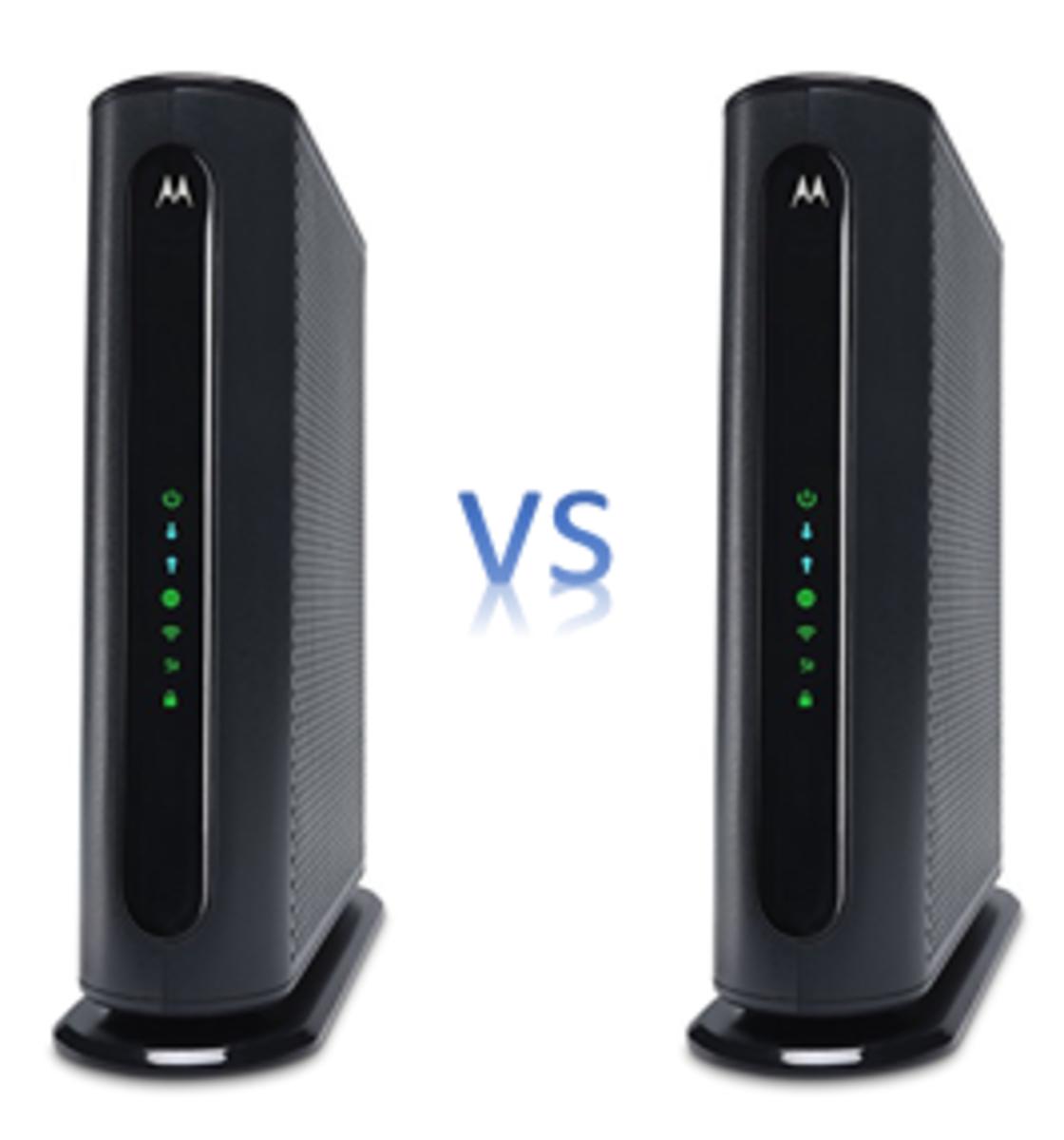 Motorola MG7450 vs MG7550. Which to buy?