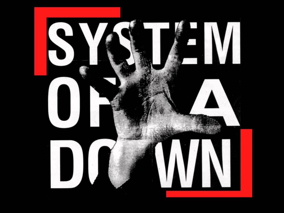 The photo that you see here was made famous because this hand image was on the cover of the band's debut album also called System of a Down.