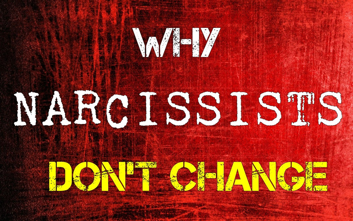 Why Narcissists Don't Change