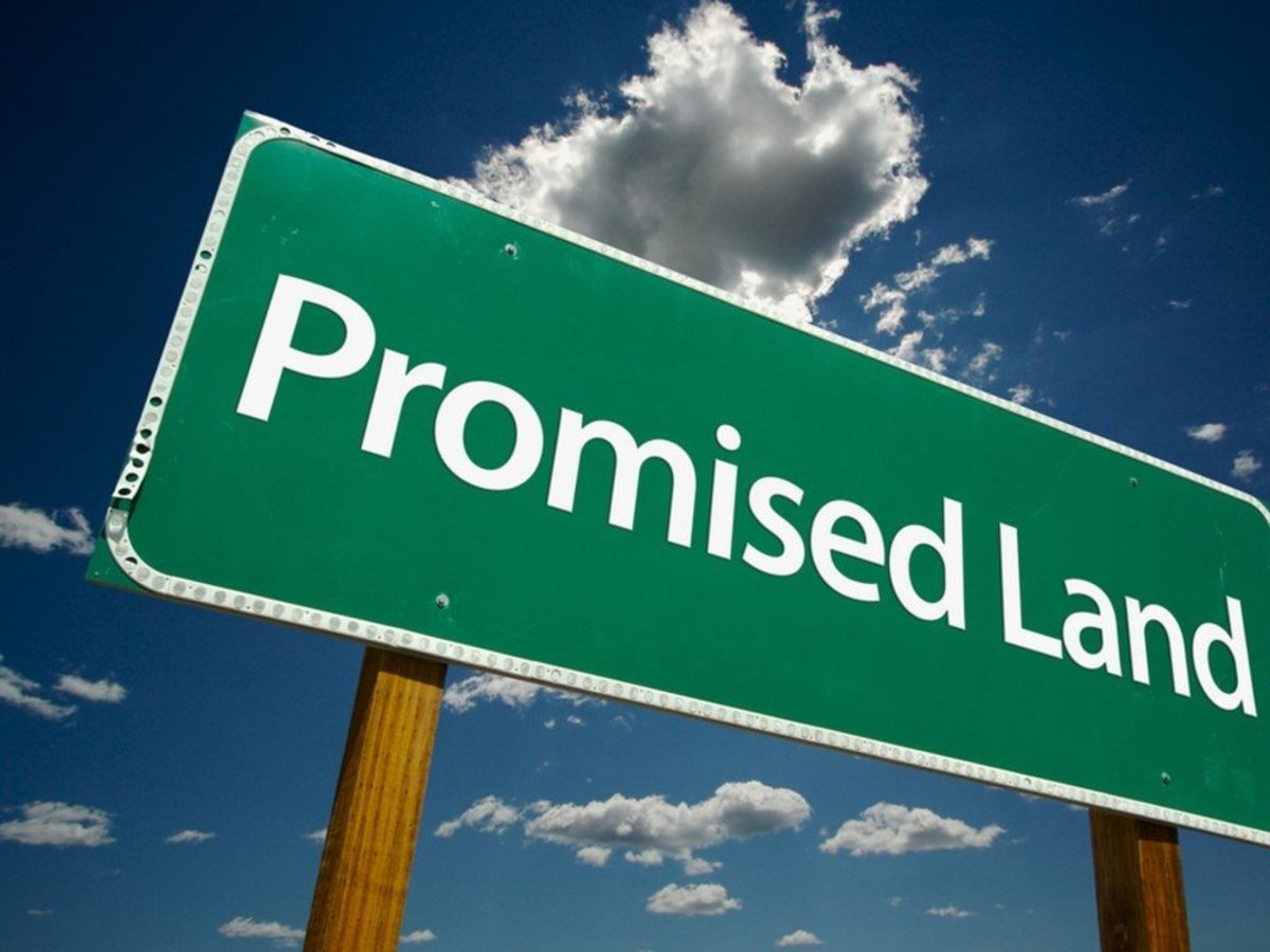 The land flowing with milk and honey is also referred to as the Promised Land.