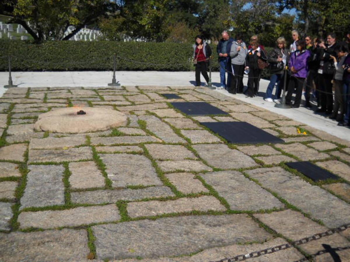 The Kennedy Family - Arlington National Cemetery - Washington, D.C.