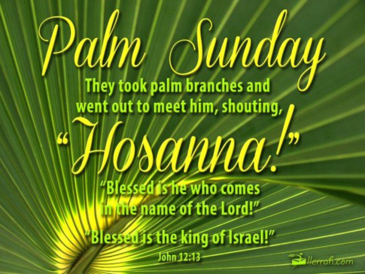 A Palm Sunday Sermon