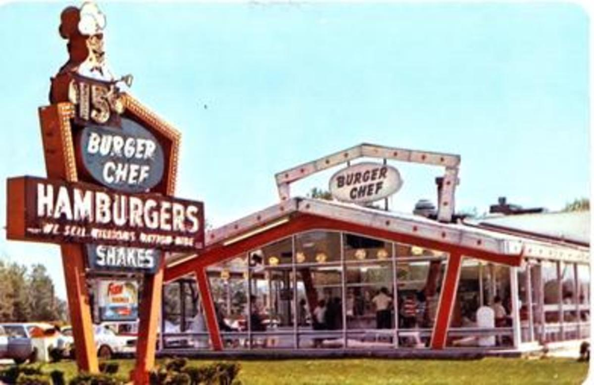 Burger Chef had a Unique Recognizable Design