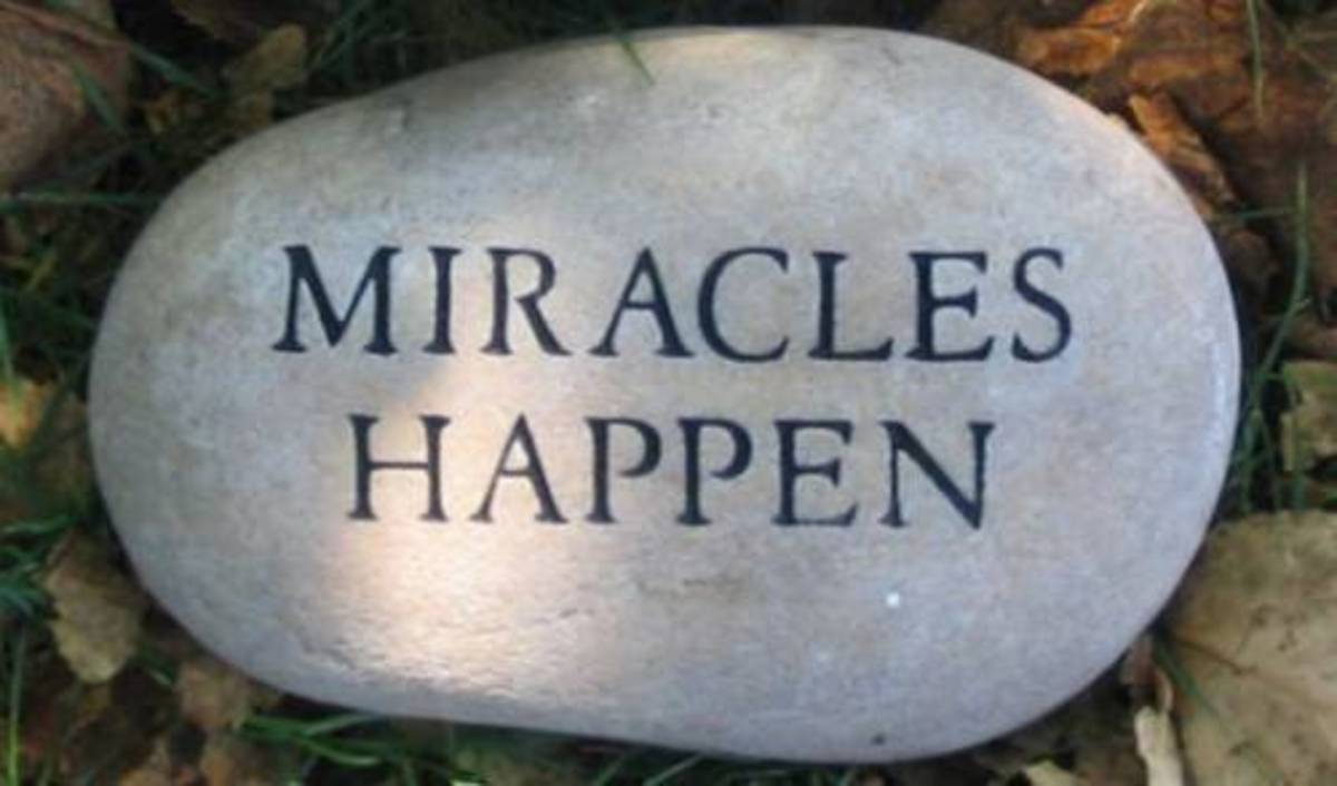 A miracle is an act of God unlike natural disasters.