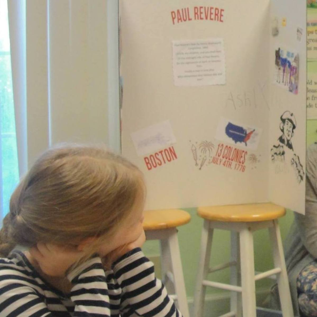 Student biography presentation on Paul Revere