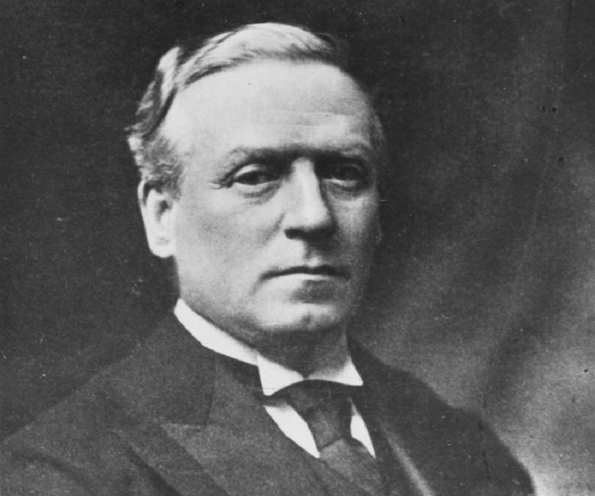 """A heavy drinker, Asquith wasn't nicknamed """"Squiffy"""" just because of his name"""
