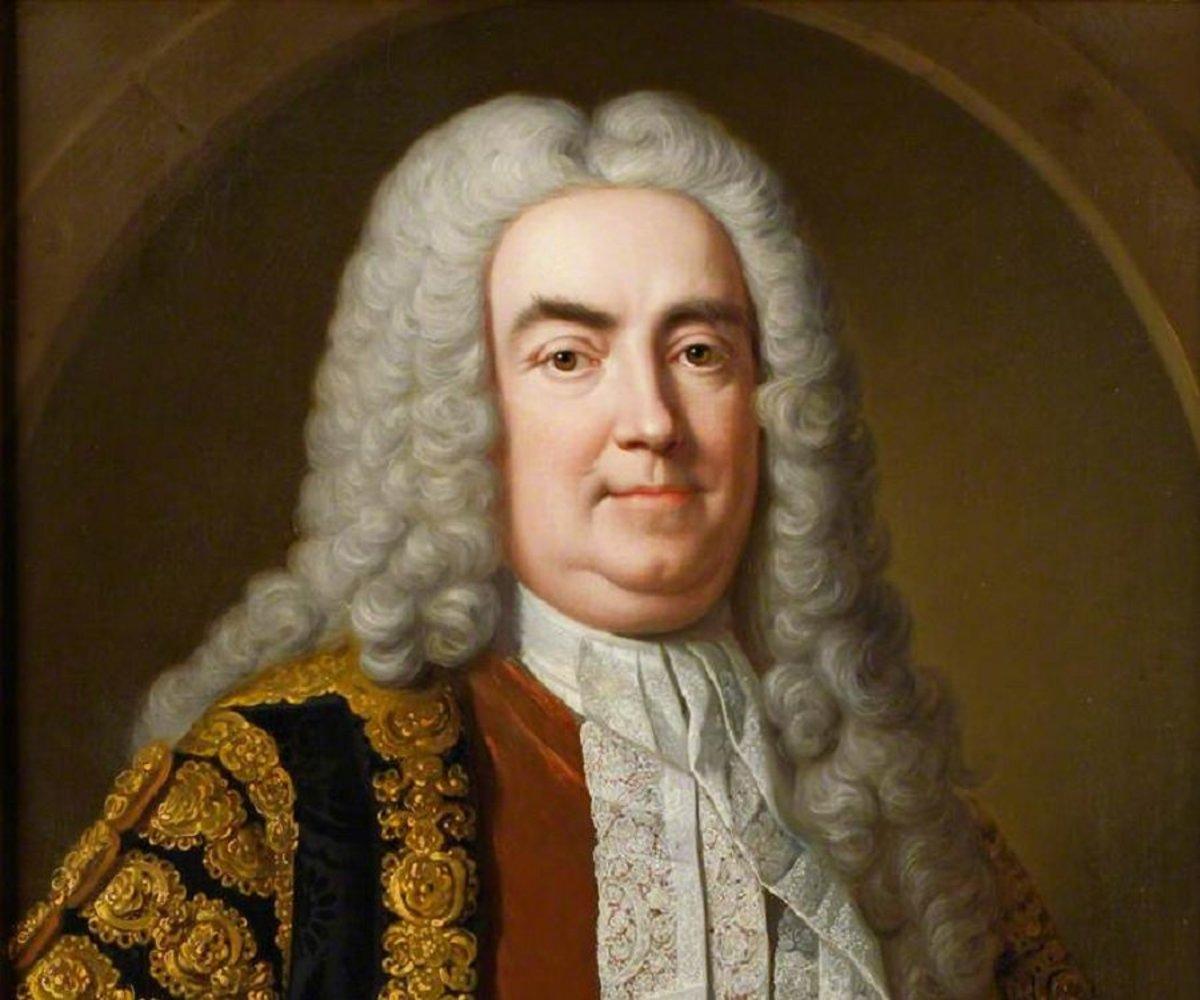 George I spoke no English so he and Walpole conversed in Latin