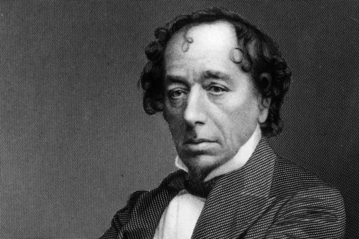 "Disraeli was a novelist and invented the word ""millionaire"" in his 1826 novel, ""Vivian Grey"""