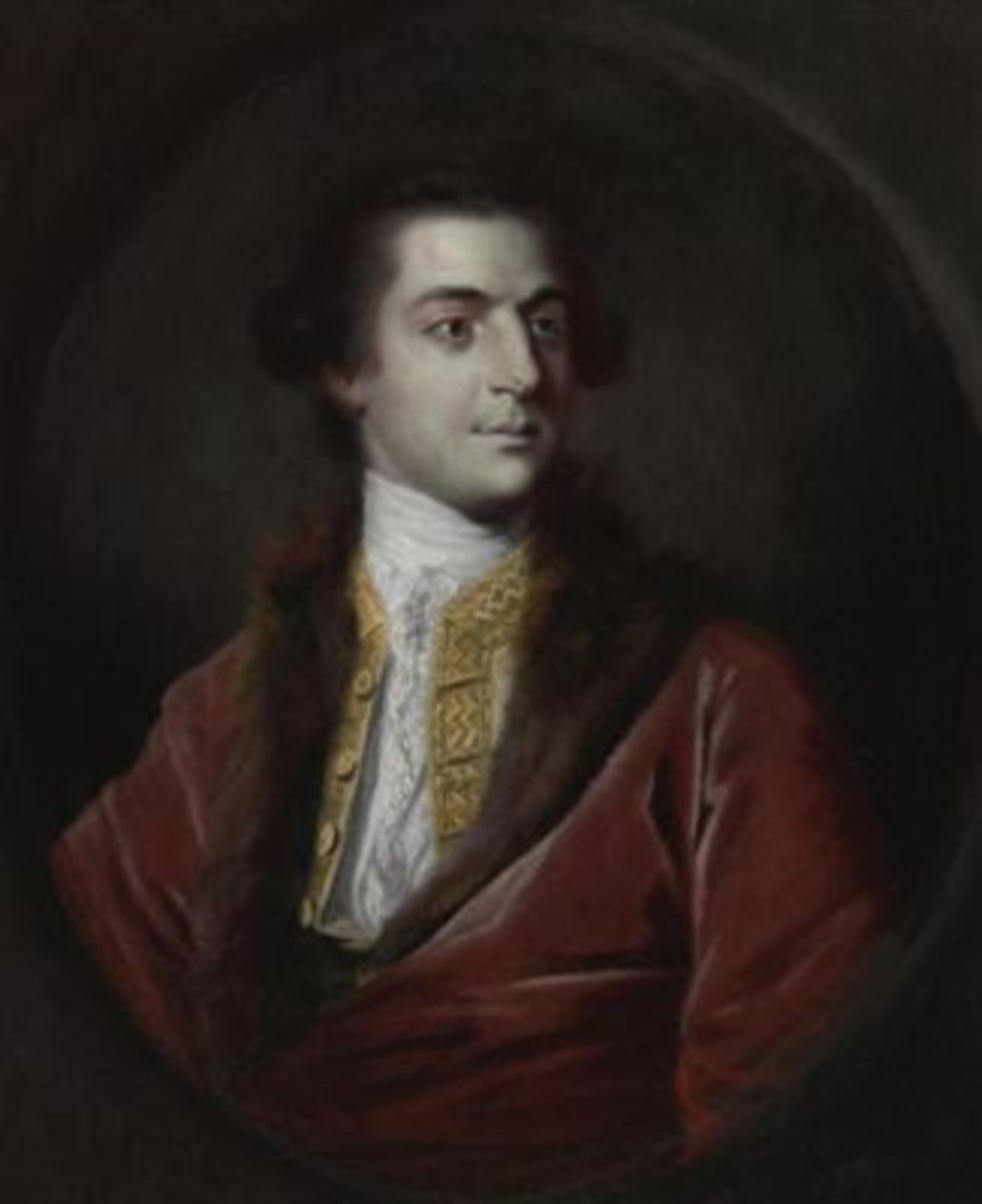 Painted by Joshua Reynolds