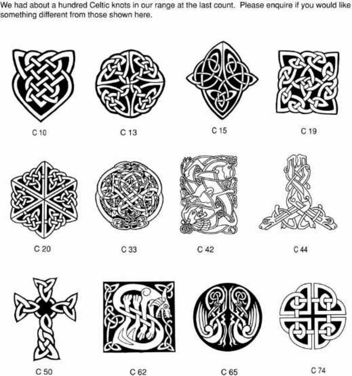 Scottish Tattoos And Meanings: History Of Celtic Design Tattoos