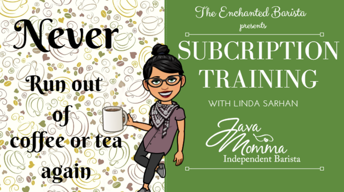 Subscription Training for Java Momma Independent Baristas