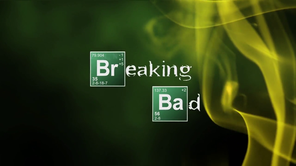 If you watch closely, the opening credits for Breaking Bad do show the chemical formula for creating methamphetamine