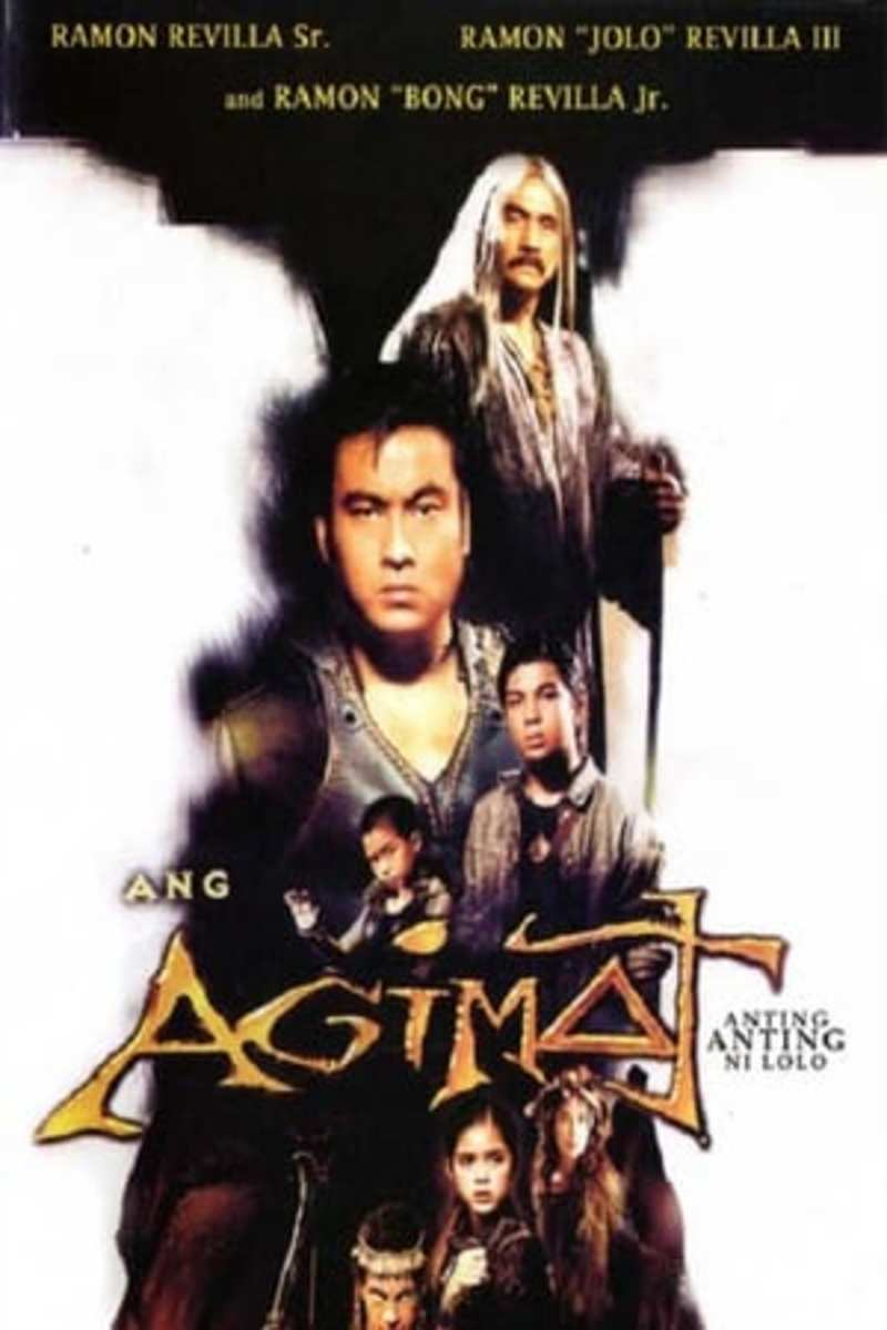 Three generations of the Revilla family have played agimat-wielding action heroes in several movies and TV shows