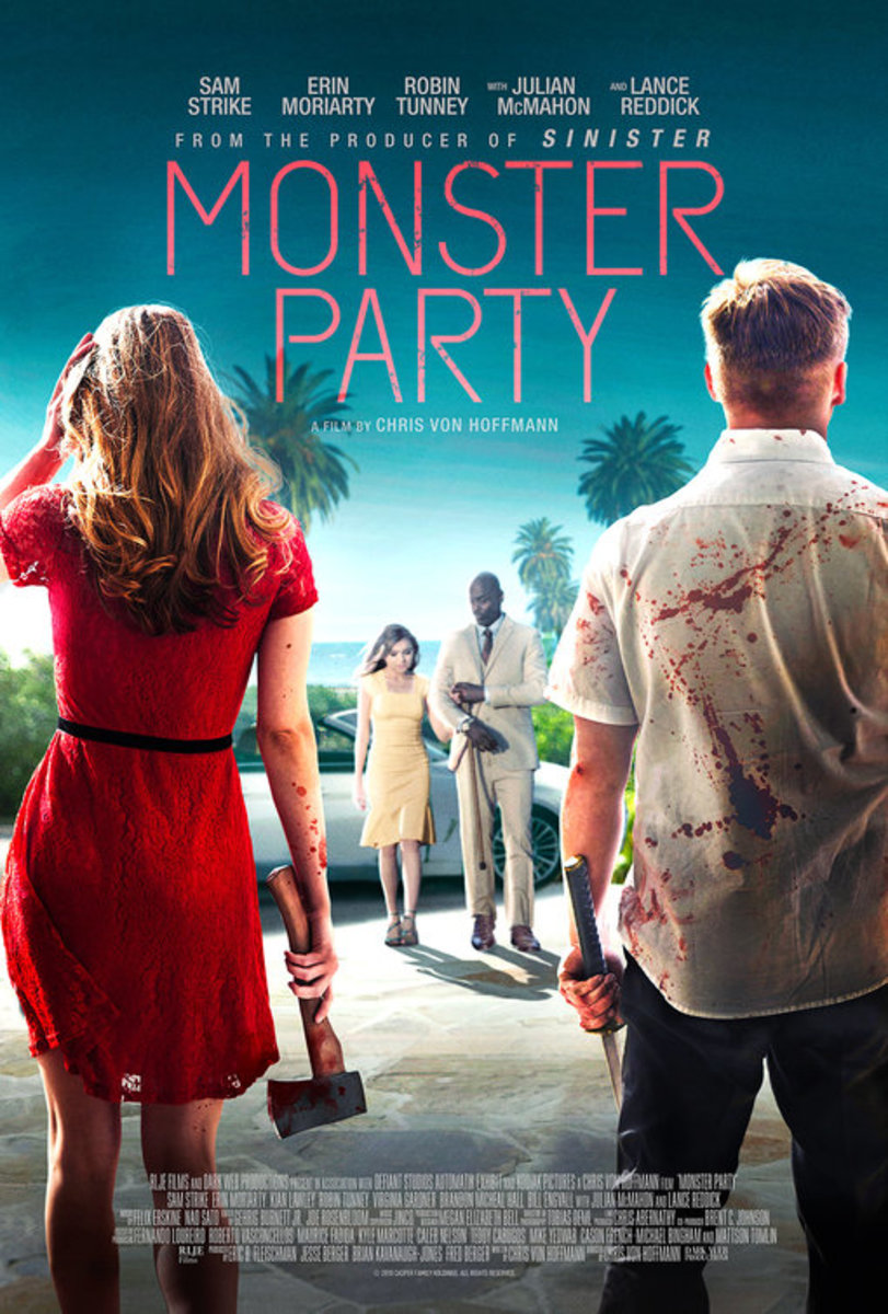 Monster Party (2018) Movie Review