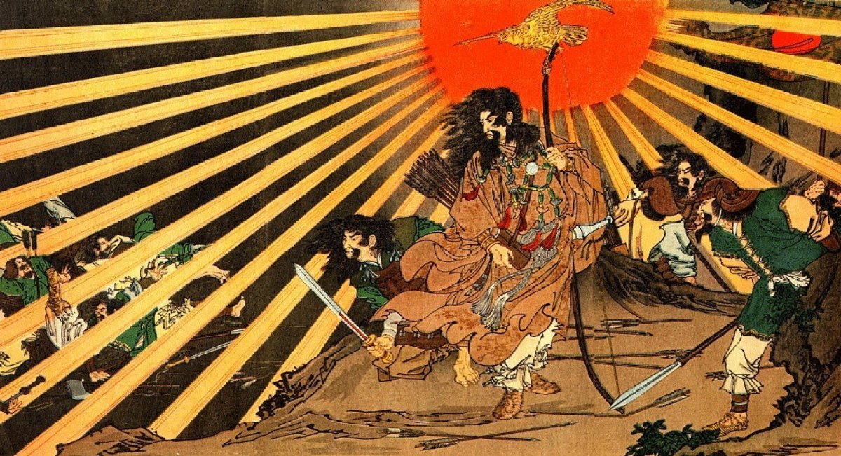 Ninigi-no-Mikoto - Grandson of Amaterasu the sun goddess