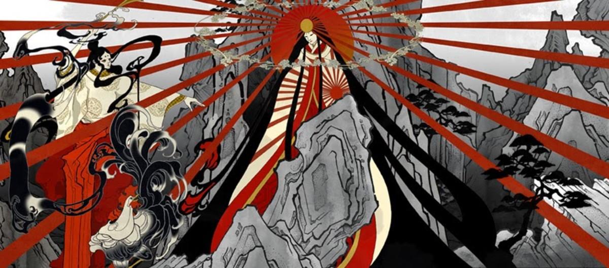 Amaterasu-Omikami, The Celestial Sun Goddess