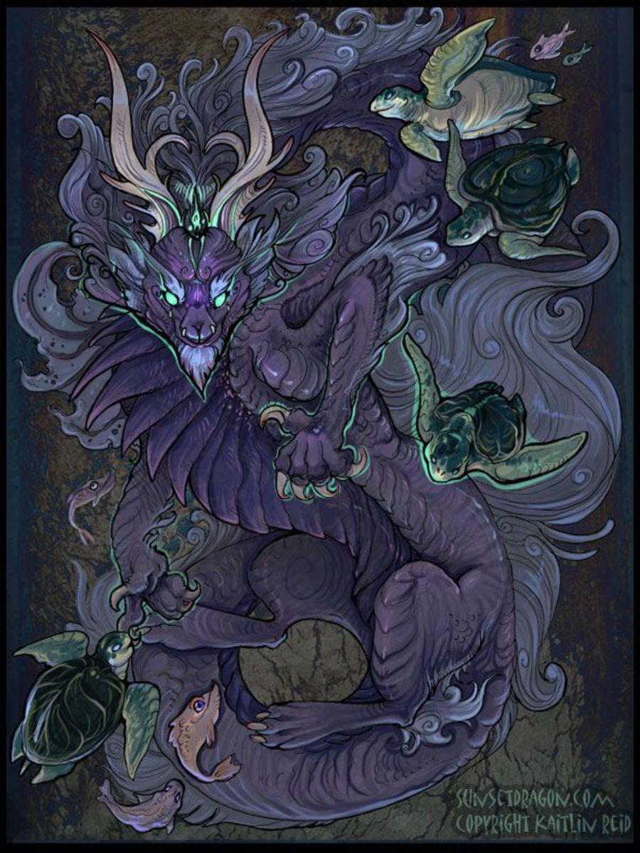 Ryujin - God of the Sea