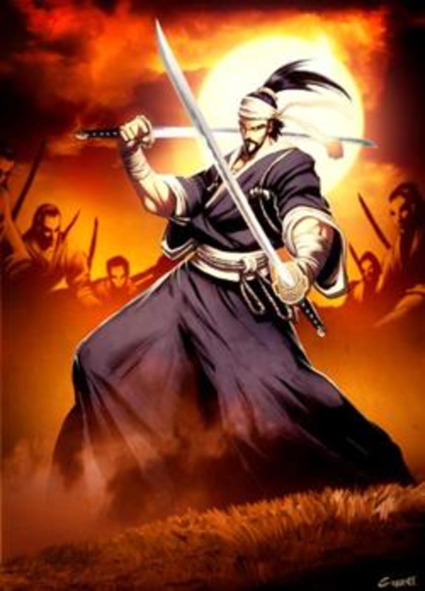 Hachiman - god of war.