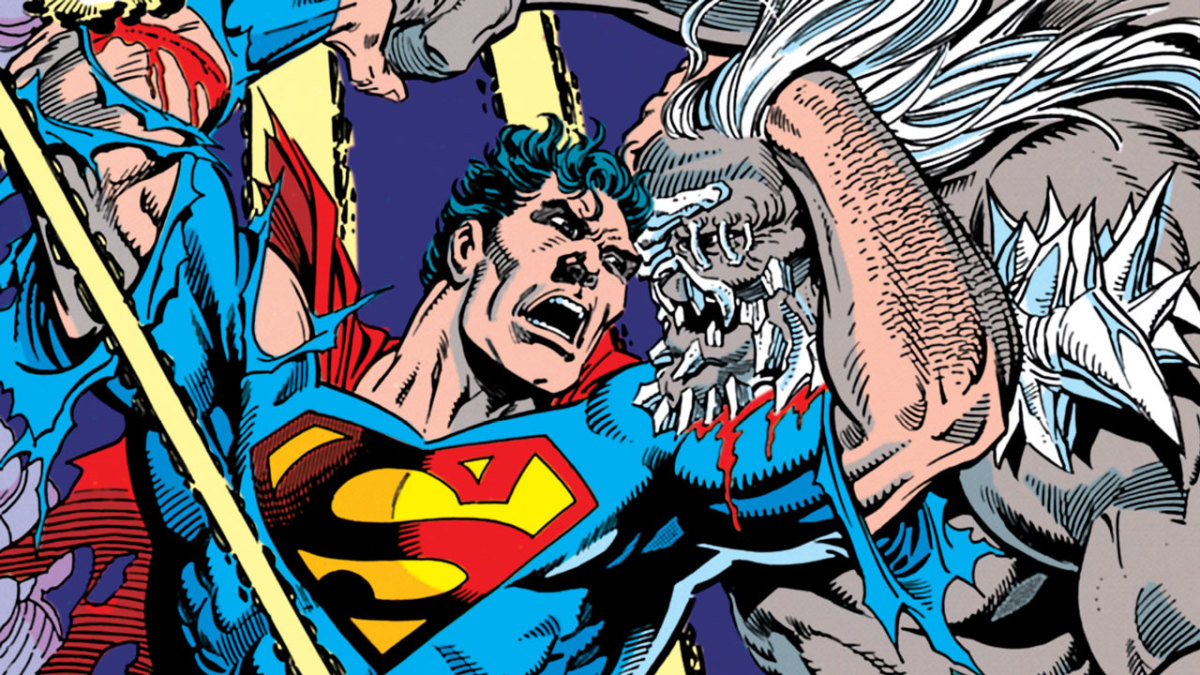 Superman fighting Doomsday. An apt visual metaphor for this whole stupid #comicsgate mess.