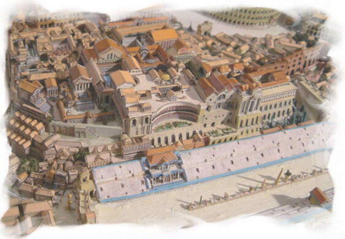 Elements of Roman City Planning