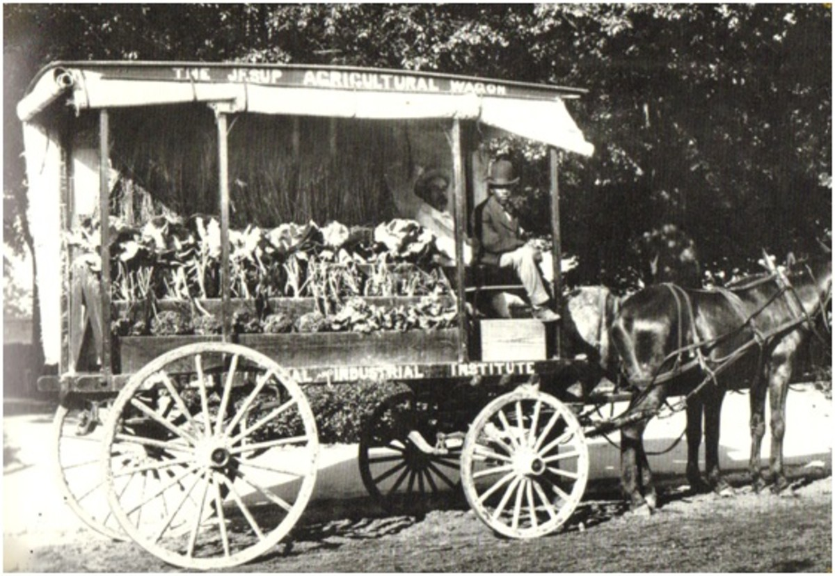 George Washington Carver's Jesup Agricultural Wagon