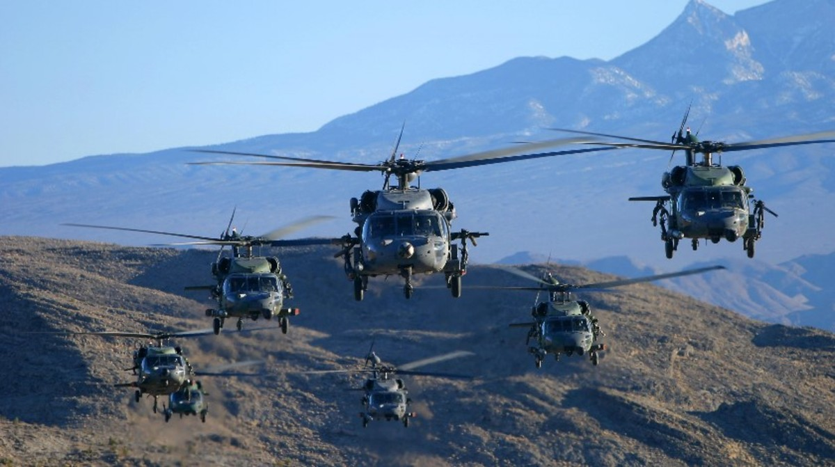 Even complex machines such as helicopters follow the same basic rules of physics.
