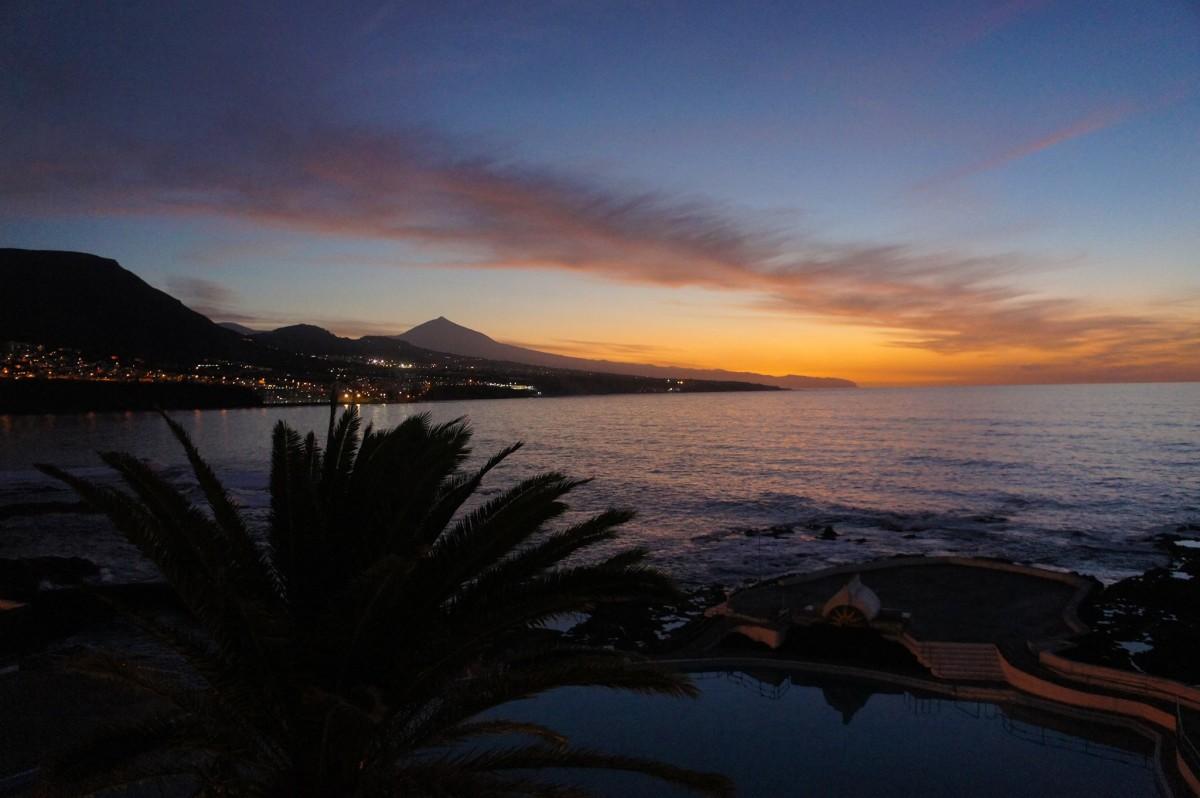 Sunset at Punta del Hidalgo