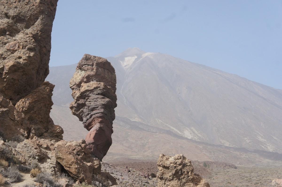Teide pico, up close