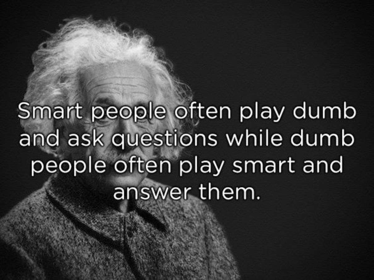How to Identify an Intelligent Person? Part Two.