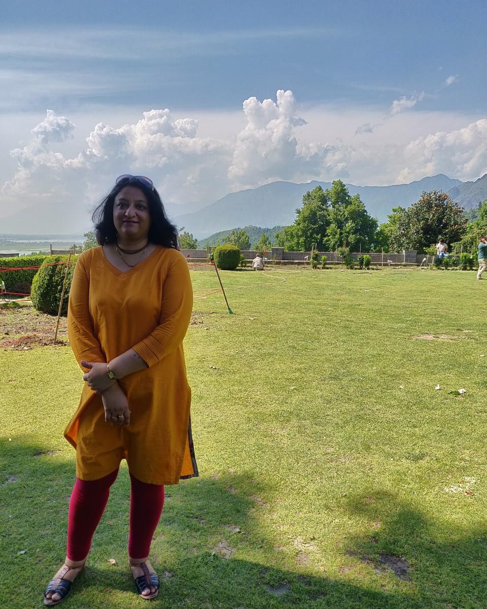 At Nishat Bagh