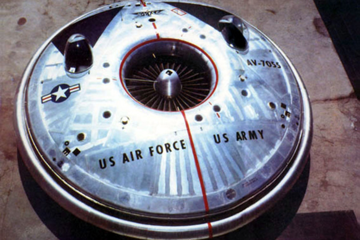 The VZ-9 Avrocar; The Top-Secret Flying Saucer of the US Military
