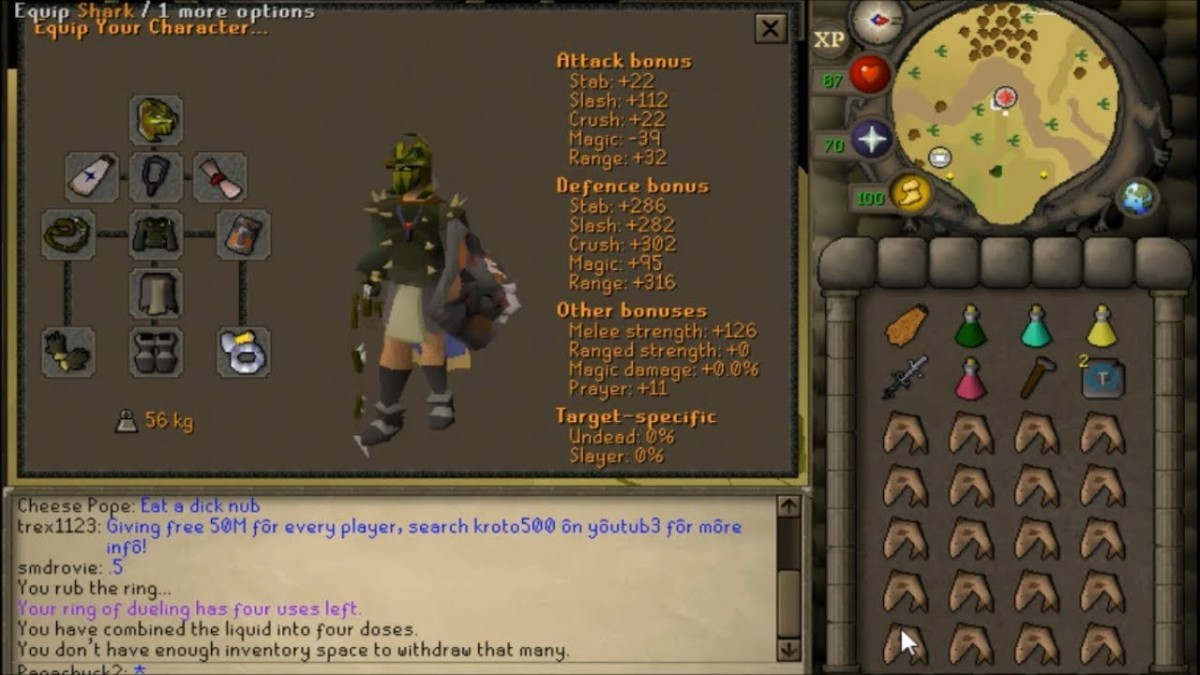 The Bandos GWD Gear, swap out Bandos Tassets for Barrows Legs, and the Bandos Boots for Primordial Boots, until you get the drops!