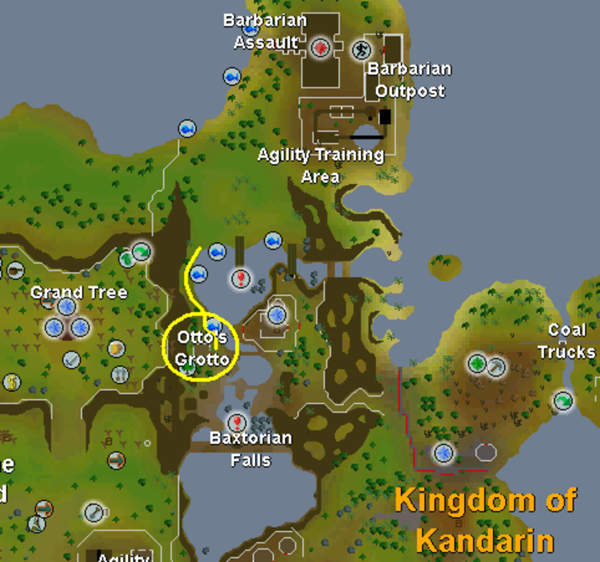 The Location of Barbarian Fishing