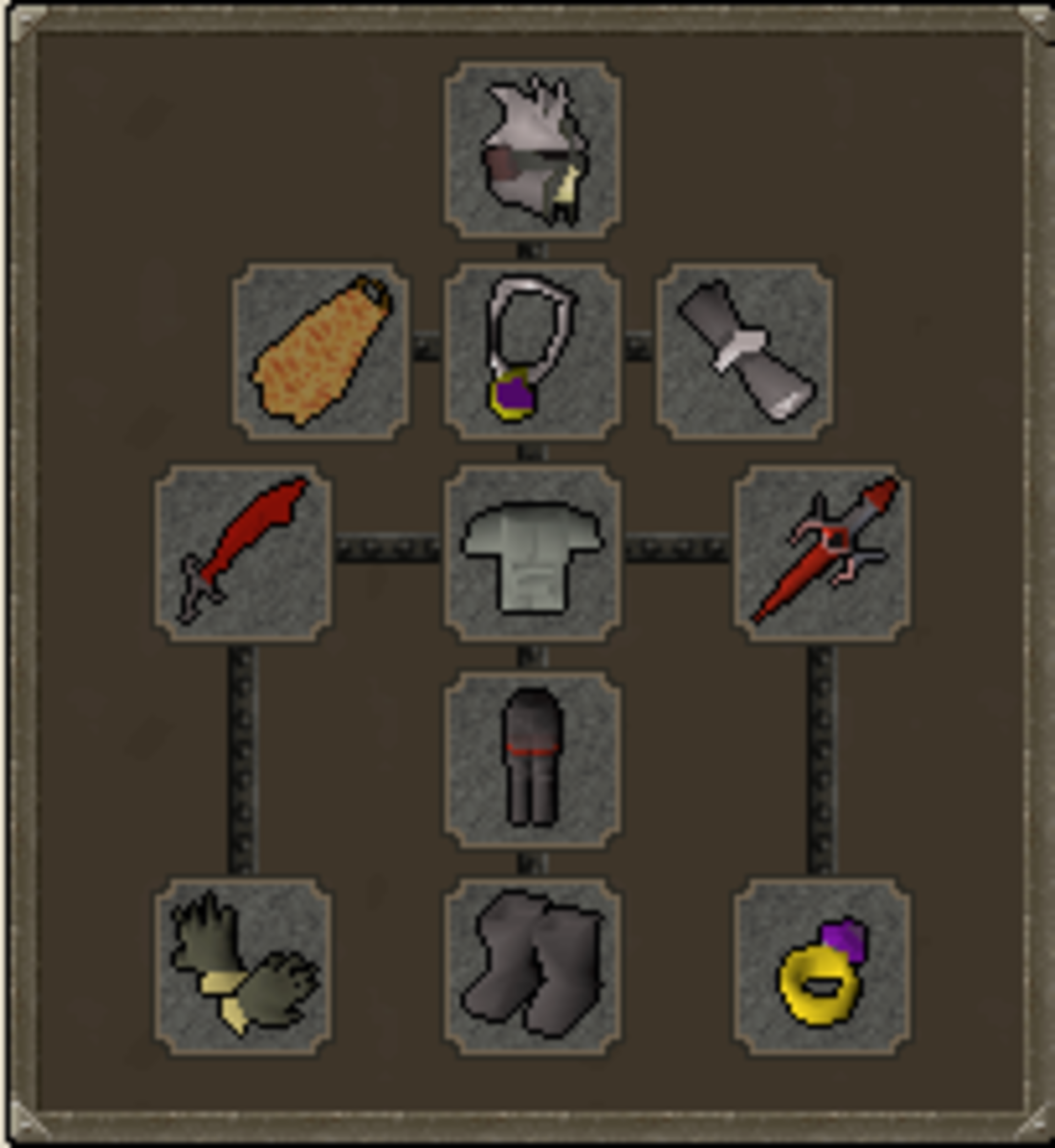 Typical Mid Game Ironman Slayer Gear