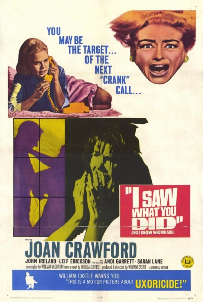 Film Poster for I Saw What You Did