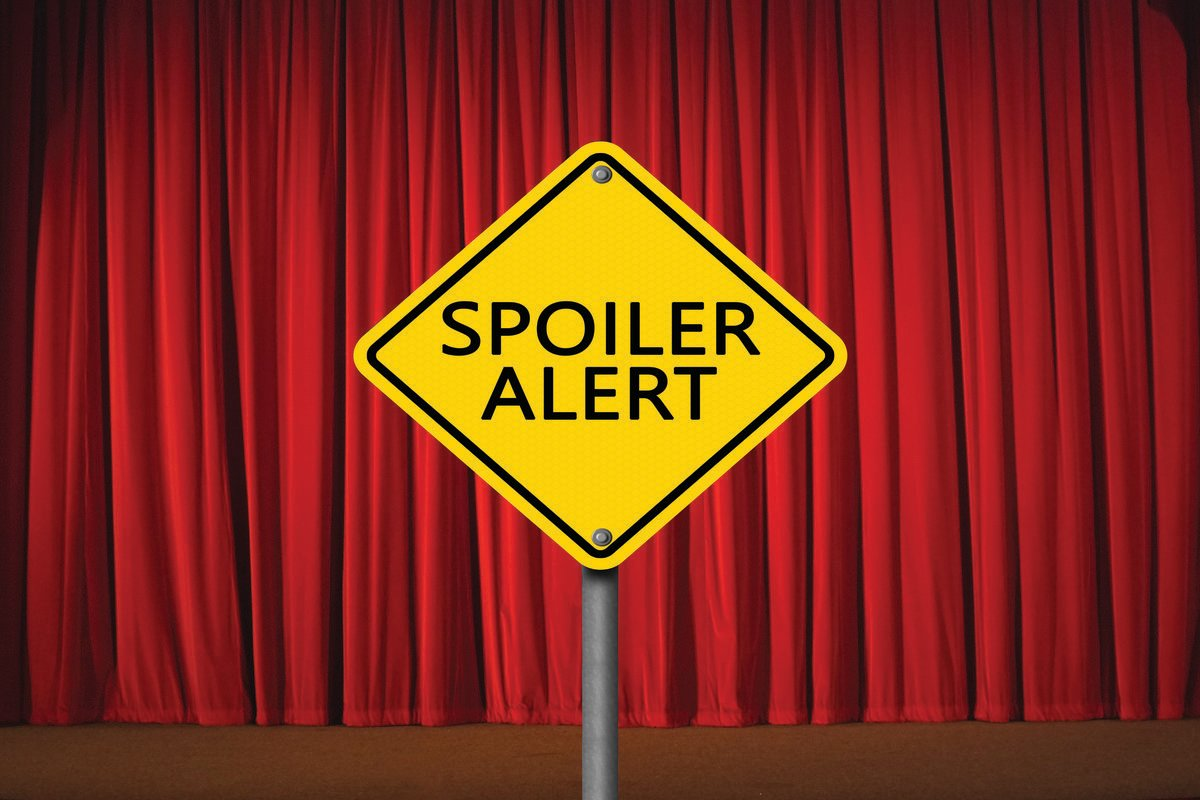 Spoilers ahead. You have been warned.