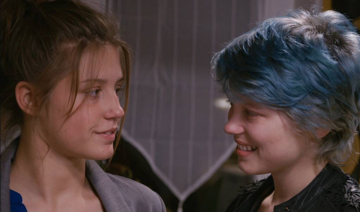 Emma and Adèle's relationship in 'Blue is the Warmest Colour' is potentially the best cinematic depiction of the 'oxytocin haze'.