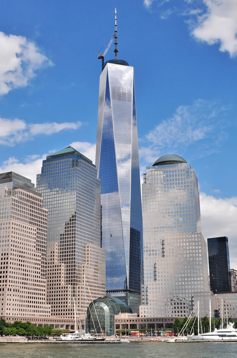 The One World Trade Center otherwise known as the Freedom Tower