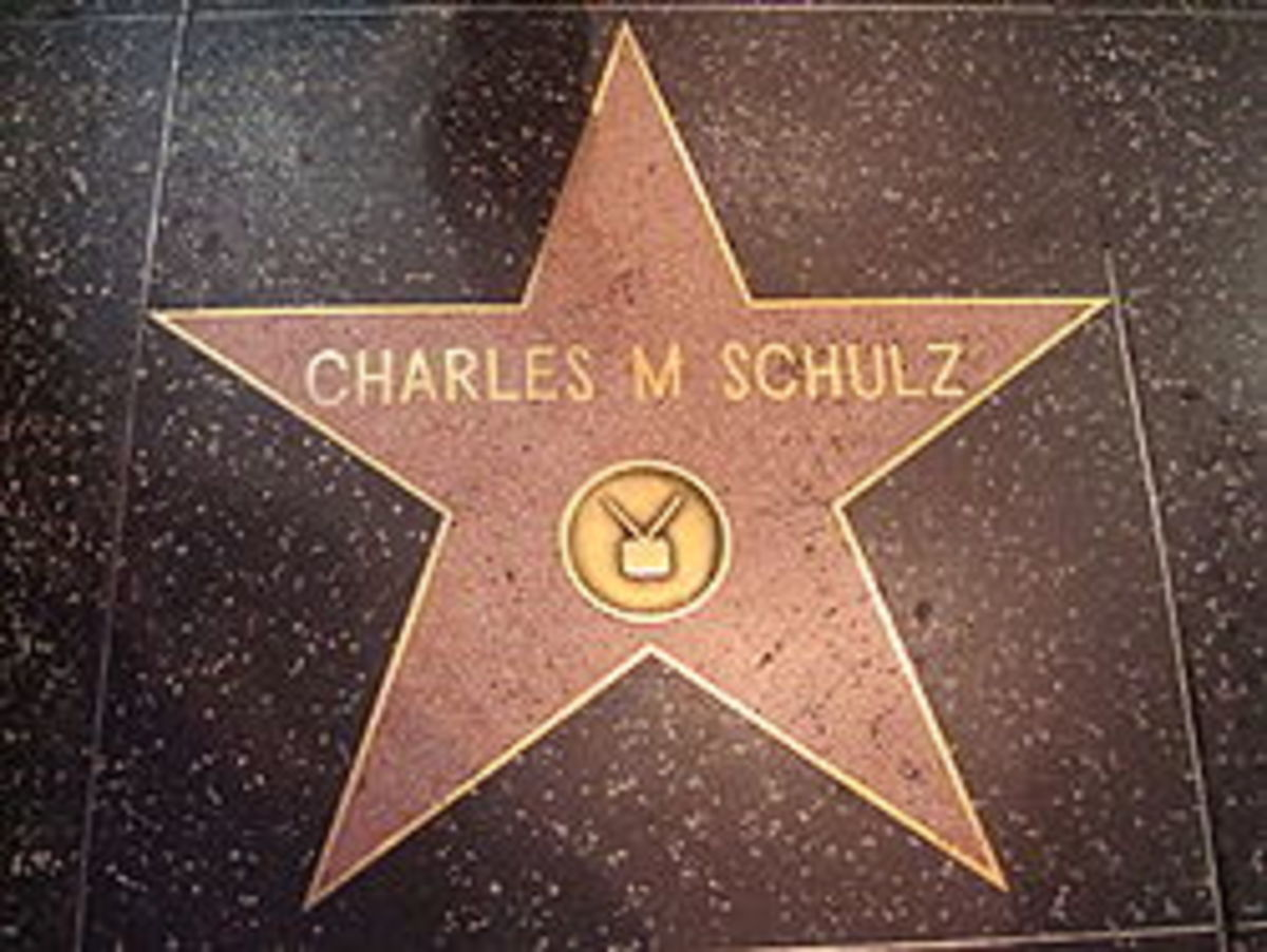 Charles Schulz star on Hollywood Walk of Fame