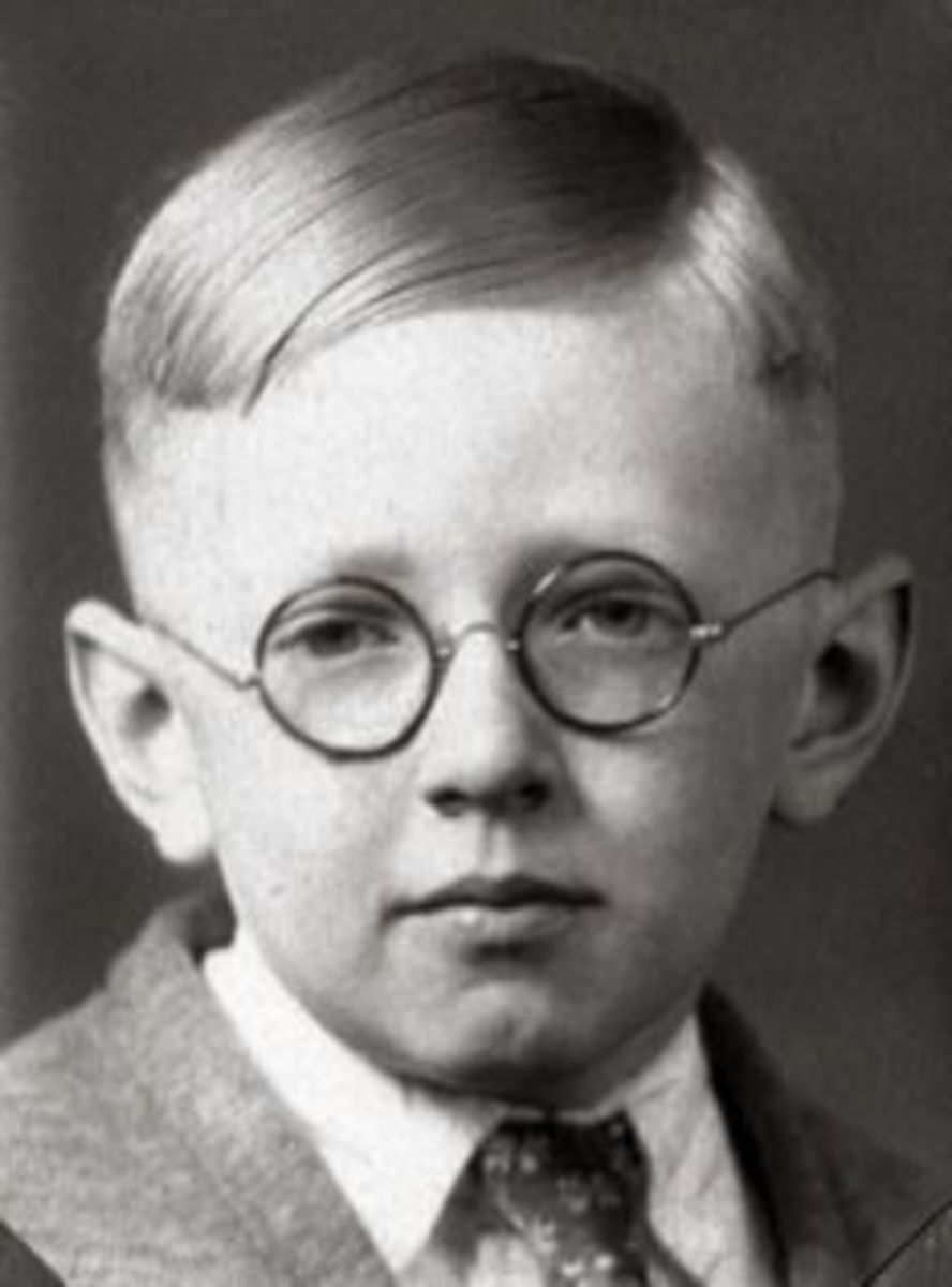 Young Charles Schulz