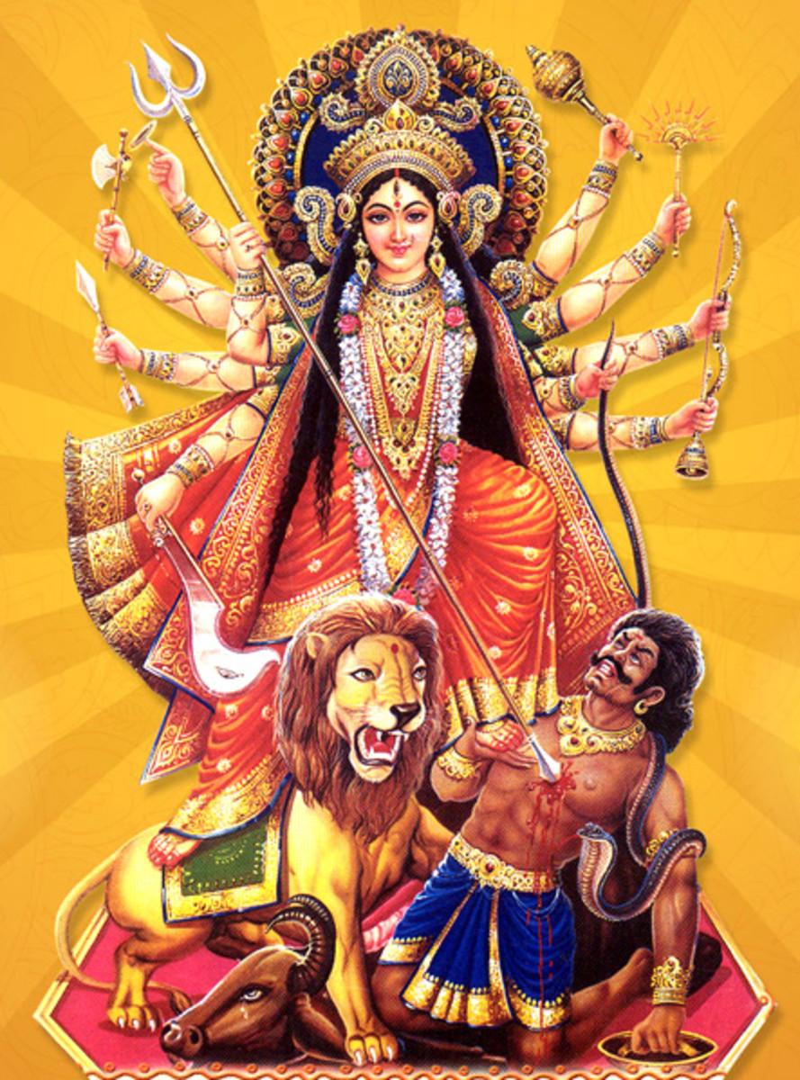 Goddess Chandi, Rituals, Mantras and Magic to Attain Super Powers Like ESP