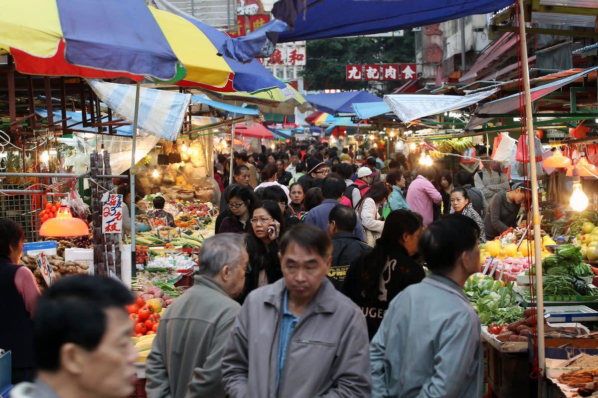 Huanan wet market