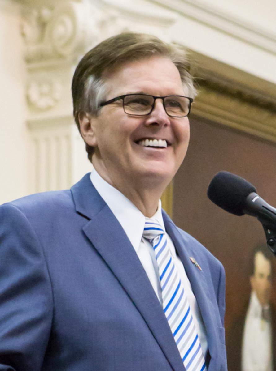 Dan Patrick, Texas Lt. Governor