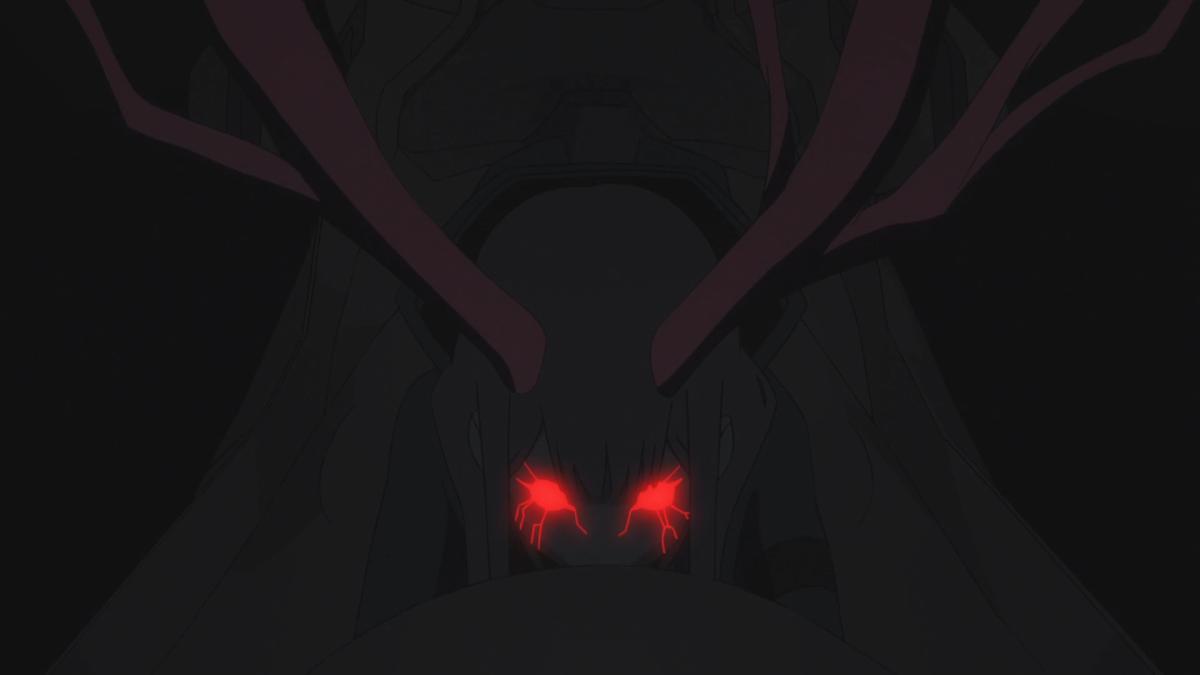 The demonic form of Zero Two.