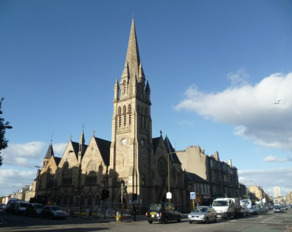 Pilrig Church in Leith Walk.