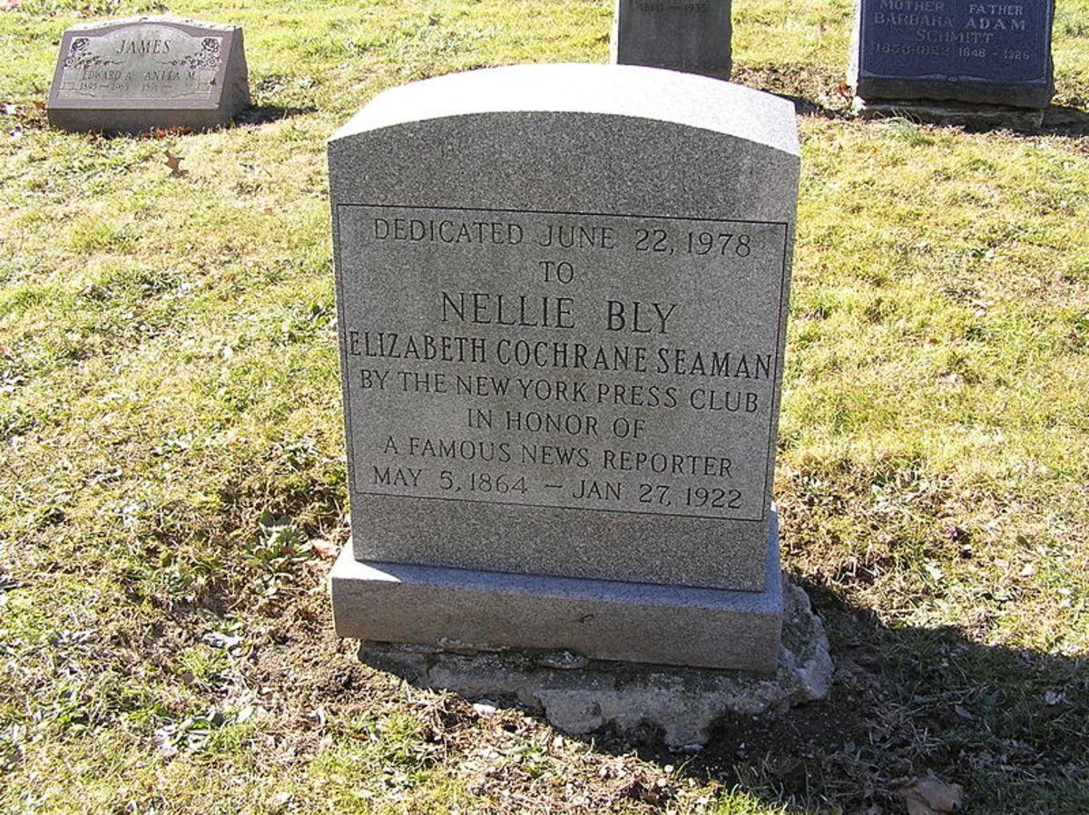 Nellie Bly Grave Marker