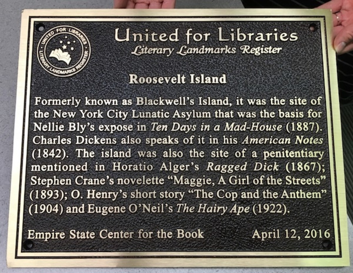 Nellie Bly Plaque