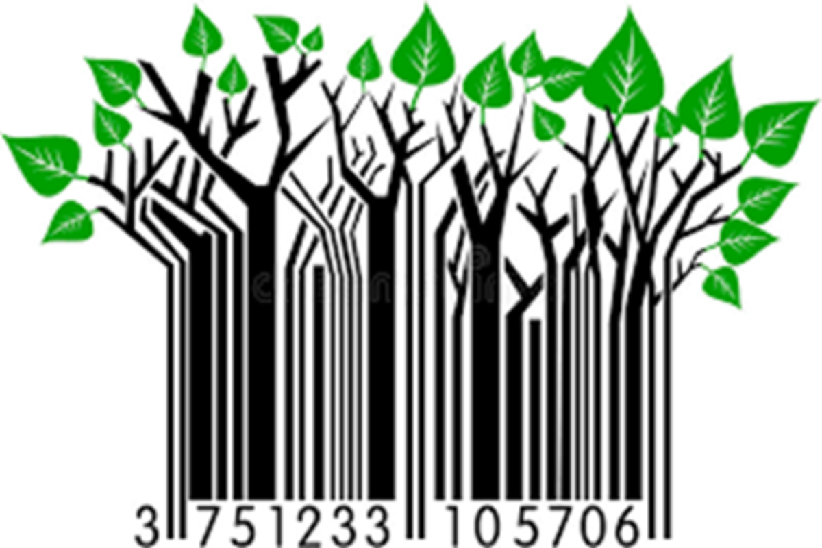 Ubiquitous Barcodes and ISBN